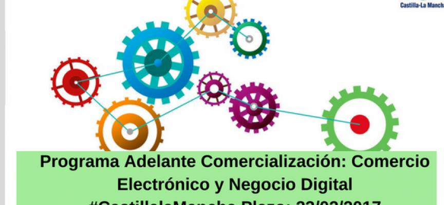 Programa Adelante Comercialización: Comercio Electrónico y Negocio Digital #CastillalaMancha – Plazo: 22/02/2017