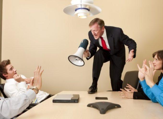 Infografía: Las 8 principales quejas sobre los jefes