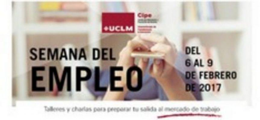 El CIPE Universidad Castilla La Mancha organiza del 6 al 9 de febrero el programa de desarrollo profesional 'Semana del Empleo 2017'