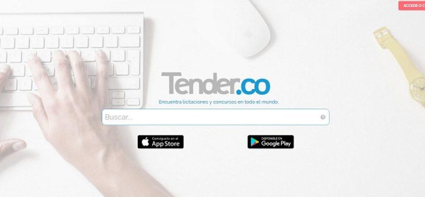 Nace Tender.co, un buscador español para encontrar licitaciones y contratos públicos