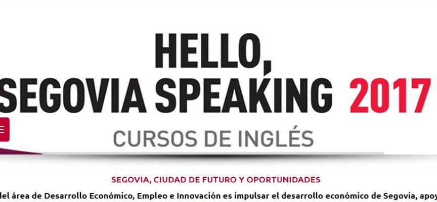 "Abierta una nueva convocatoria del programa ""Hello, Segovia Speaking"""