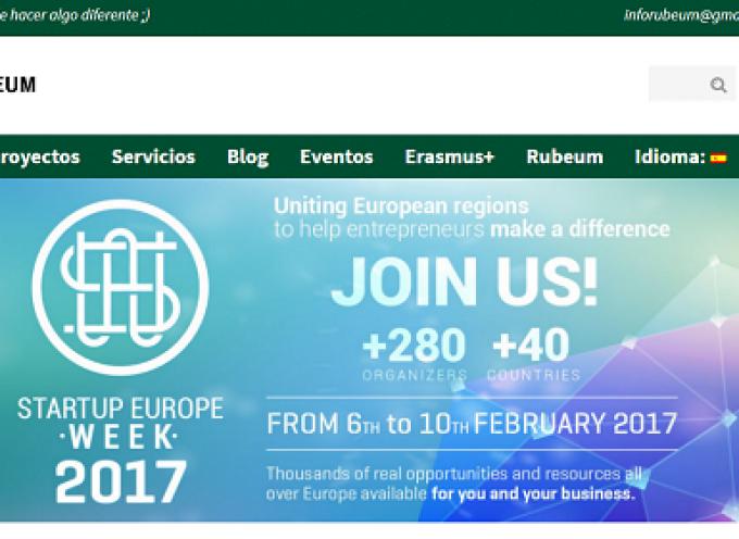 Startup Europe Week #Ciudad Real 2017 – #emprendedores #SEW17 #SEWCiudadReal17