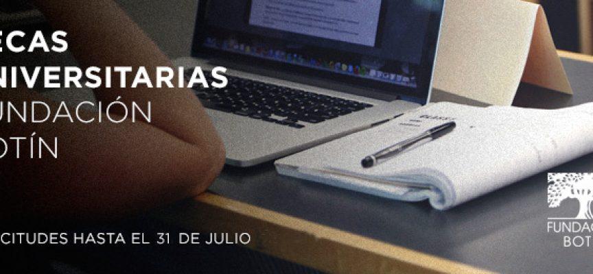 Becas universitarias Fundación Botín – Plazo 31/07/2017 (Cantabria)
