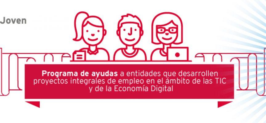 Red.es abre la convocatoria de las ayudas para la formación y el empleo juvenil en la economía digital