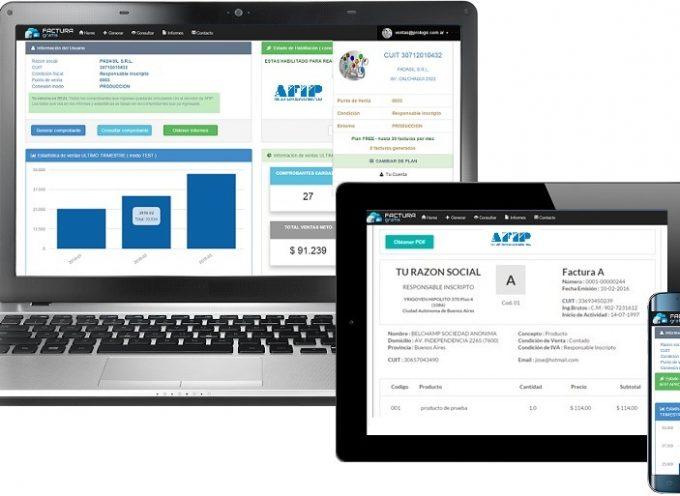 Hacer una factura con el móvil o la tablet