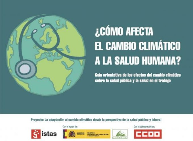 Guía sobre los efectos del cambio climático en la salud pública y en el trabajo