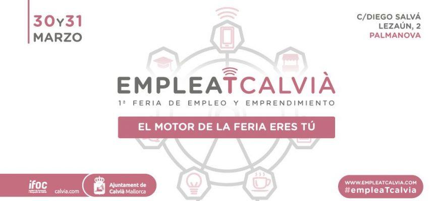 La I Feria de empleo #EmpleaTcalvia ofrecerá más de 300 puestos de trabajo 30 Y 31 de marzo 2017