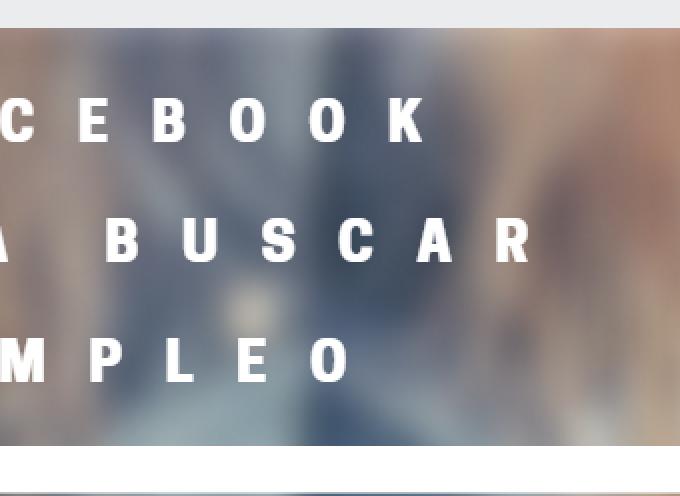Facebook para buscar empleo