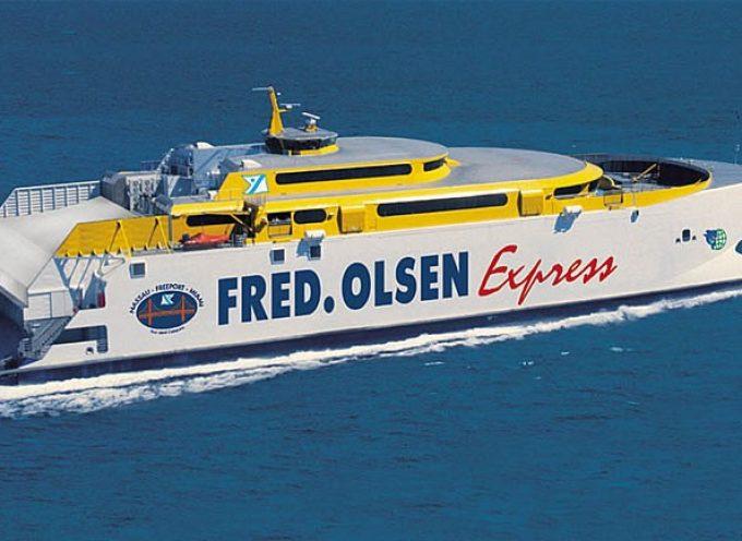 Fred Olsen necesita empleados para trabajos en barco