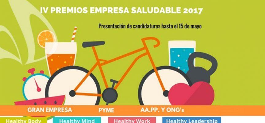 Participa antes del 15 de mayo en la IV edición de los Premios Empresa Saludable