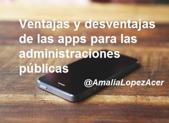10 Ventajas y desventajas de las apps para las administraciones públicas