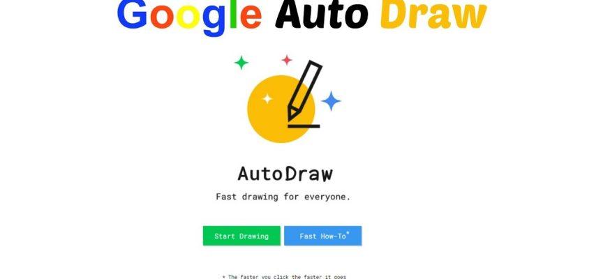 AutoDraw, la nueva herramienta made in Google que ayuda a dibujar