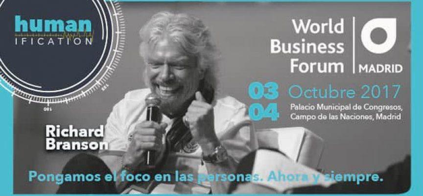 3 y 4 de octubre: World Business Forum en Madrid