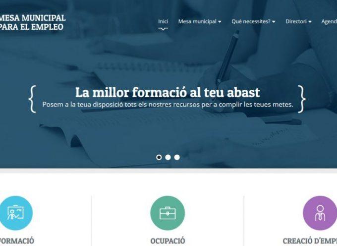 Dénia crea una web con todos los recursos vinculados con el empleo