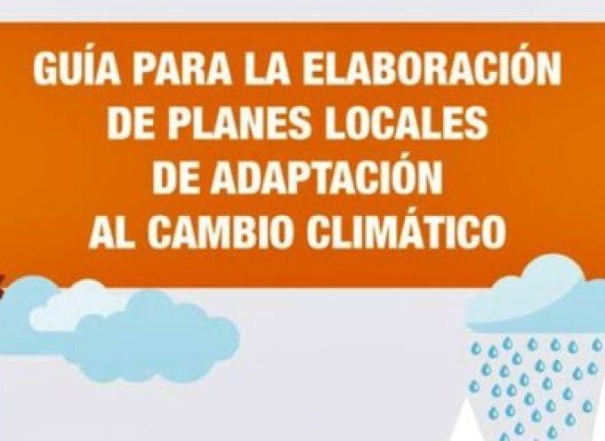 Guía para la elaboración de planes locales de adaptación al cambio climático