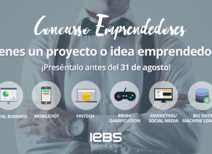 Nueva edición del Concurso de Emprendedores de IEBS – Plazo 31/08/2017