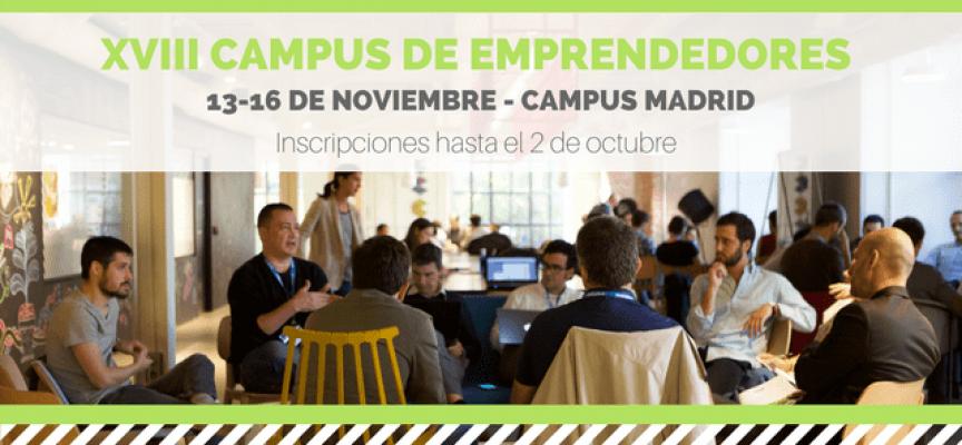 Campus de Emprendedores de SeedRocket – Madrid / Inscripciones hasta el 02octubre2017