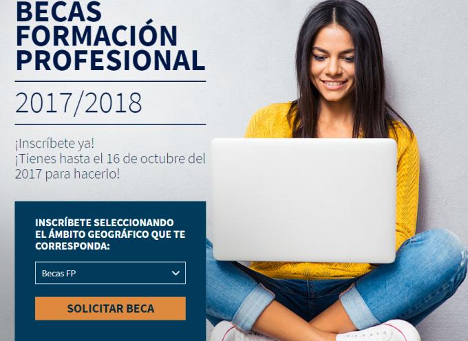 Becas Formación Profesional Fundación Repsol 2017-2018 – Plazo 16/10/2017
