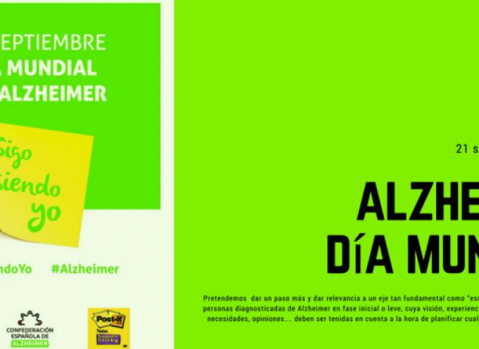 21 de Septiembre – Día Mundial Alzheimer #SigoSiendoYo #Alzheimer Colabora y difunde