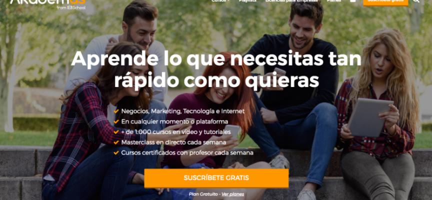 1500 cursos online en Akademus de IEBSchool