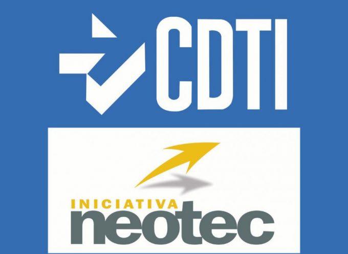 Abierta la convocatoria Programa NEOTEC 2017. Ayudas a nuevas empresas innovadoras. Plazo 20/09/2017