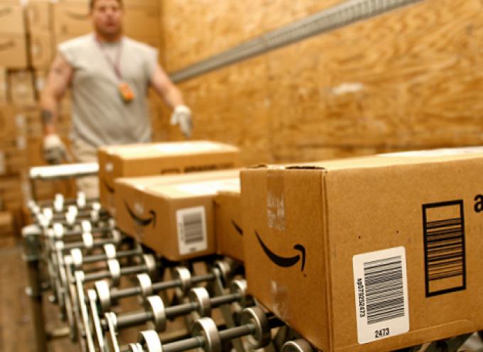 Trabajar en el centro logístico de Amazon en Illescas