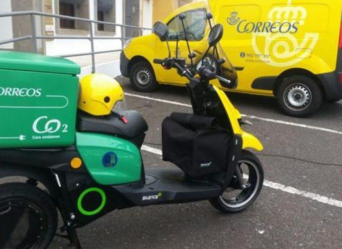 Correos incorpora 200 nuevas motos eléctricas a su flota de reparto