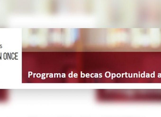 Nueva edición del programa de becas 'Oportunidad al Talento'