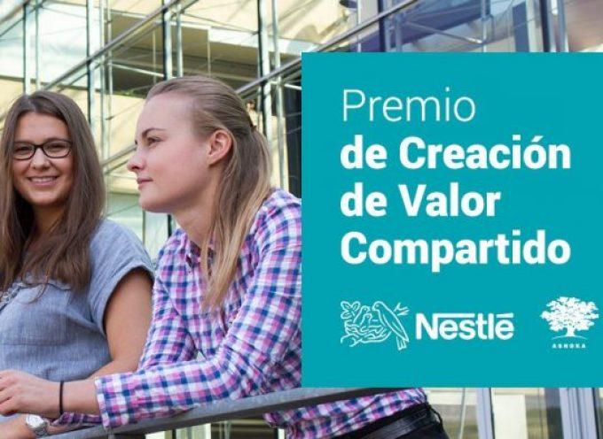 Nestlé convoca una nueva edición de su Premio de Creación de Valor Compartido