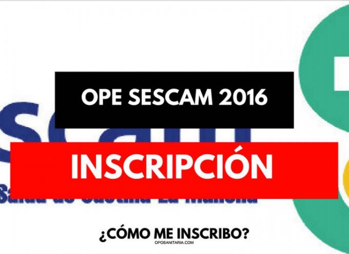 Instrucciones a las Oposiciones al Servicio de Salud de Castilla La Mancha – Plazo 29/09/2017