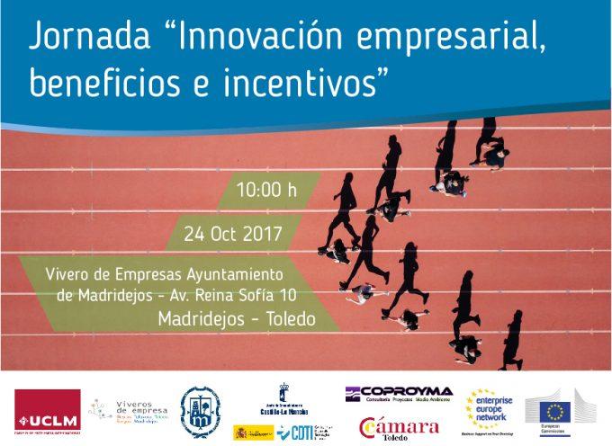 """MADRIDEJOS. Jornada sobre """"Innovación empresarial, beneficios e incentivos"""""""