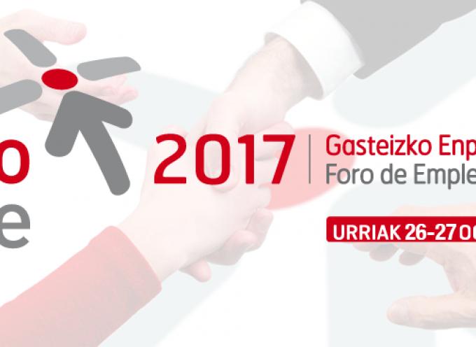 Foro de Empleo Vitoria-Gasteiz, 26 y 27 de octubre 2017