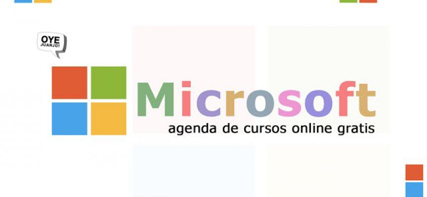 Microsoft ofrece más de 130 cursos online gratis