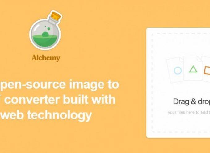 Alchemy, una buena opción para transformar imágenes en PDF o GIF