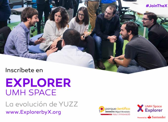 """Nueva convocatoria """"Explorer"""" para jóvenes emprendedores"""