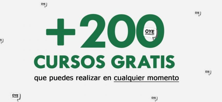 +200 Cursos Online Gratis Que Puedes Realizar En Cualquier Momento