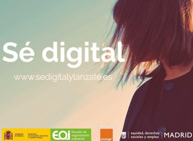 Cursos Gratuitos online. Madrid abre la segunda convocatoria de 'Sé digital' – Plazo 4/12/2017