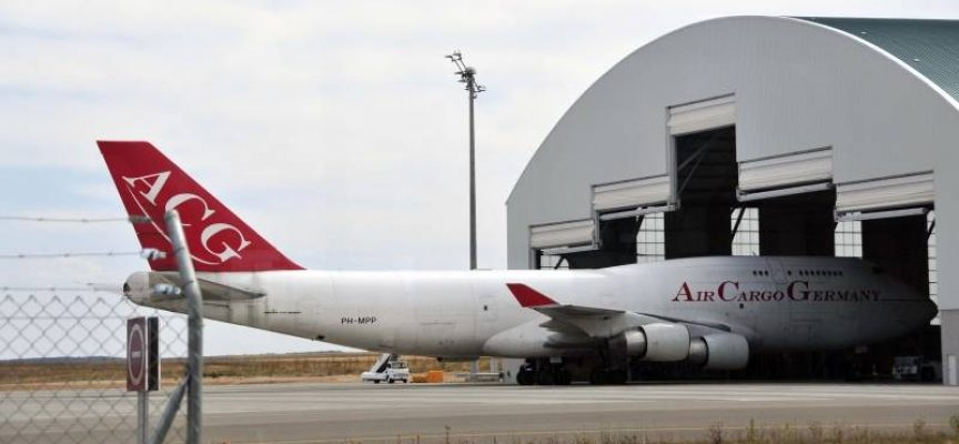 El nuevo hangar del aeropuerto de Teruel creará 100 empleos