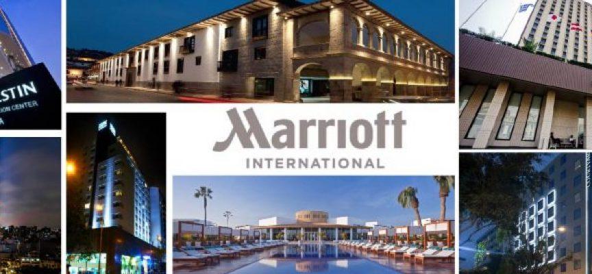 Hoteles Marriott dispone de 74 ofertas de empleo en España y más de 5000 en todo el mundo