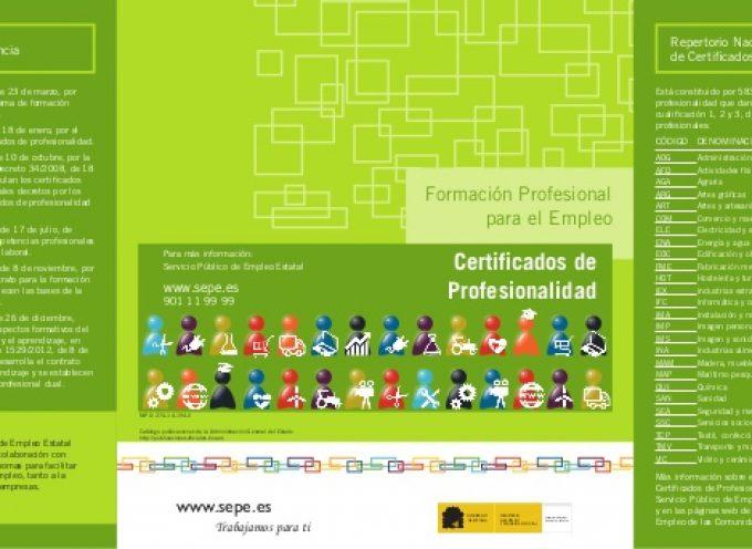 Certificados de profesionalidad, la mejor manera de acreditar tu experiencia laboral