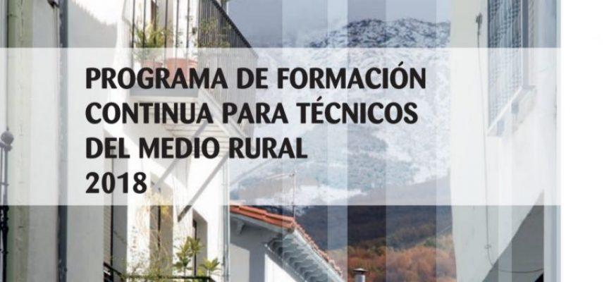 Cursos de formación para el desarrollo sostenible del medio rural