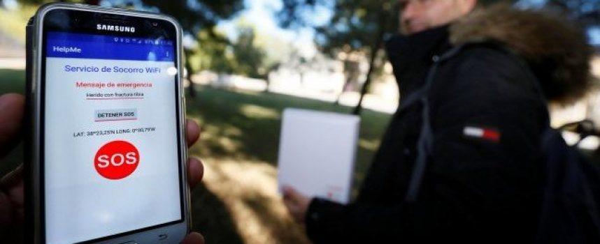 Un móvil sin cobertura puede salvar vidas con una innovadora 'app' española