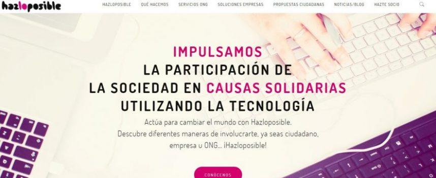 Hazloposible lanza una app que promueve el voluntariado corporativo