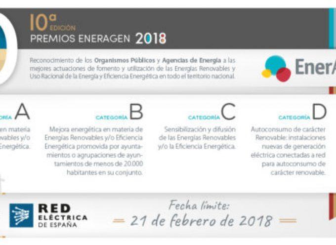 10ª Edición de los Premios Nacionales de la Energía (España) | Plazo 21 de febrero de 2018
