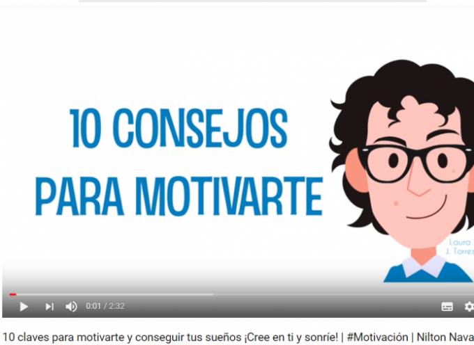 10 CONSEJOS PARA MOTIVARTE Y CONSEGUIR TUS OBJETIVOS (VÍDEO) #MOTIVACIÓN