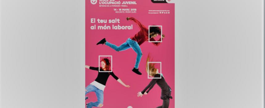 25 empresas buscan personal en el Salón del Empleo Juvenil de #Barcelona DEL 14 AL 16 de marzo de 2018