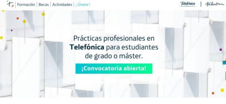 Telefónica convoca las becas Talentum para estudiantes y recién titulados | Plazo 9 de marzo de 2018