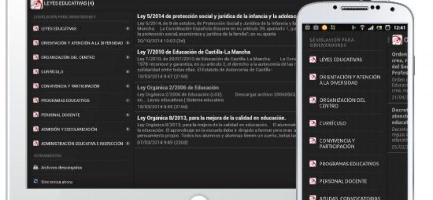 'Legislación para orientadores', la aplicación para estar al día en normativa educativa