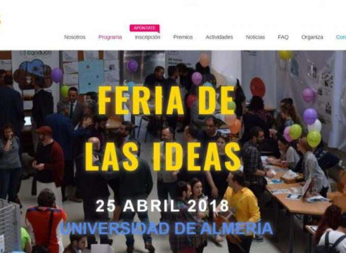Feria de las Ideas – 25/04/2018 en #almería
