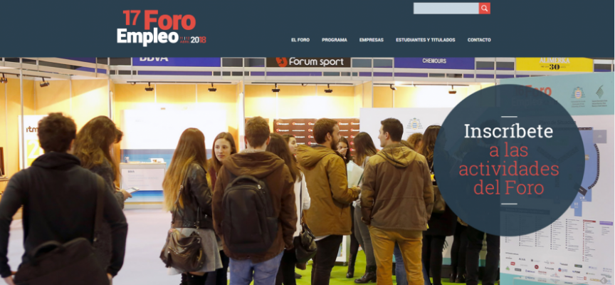 Más de 50 empresas en el Foro de Empleo del día 11 y 12 de abril en Oviedo